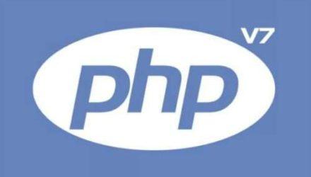 errore versione php-v7