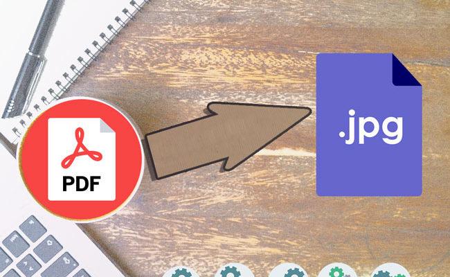 convertire da PDF e JPG