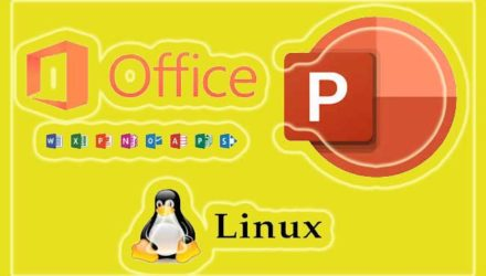 ms office powerpoint e linux