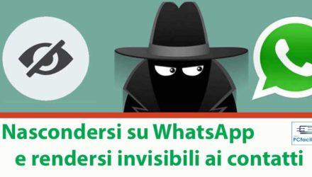 nascondersi su whatsapp
