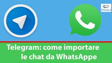 telegram e whatsapp