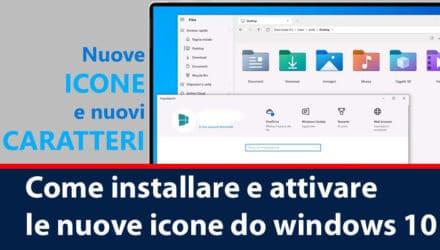 Come installare e attivare le nuove icone