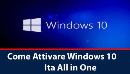 Attivare Windows 10 Crack Ita All in One